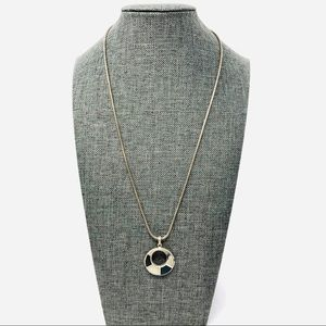 Jewelry - Vtg sterling pendant necklace